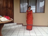dhimsa dance telugu saree tutorial