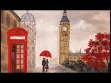 LONDON Landcape Impressionist Acrylic Painting Tutorial LIVE #Valentines #Angelooney Event
