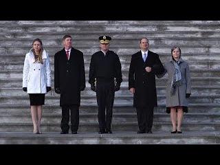 Trump Inauguration Parade Rehearsal