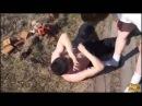 Драка в селе. Разборки деревенских алкашей. Лучшие драки 2016 №13. 18
