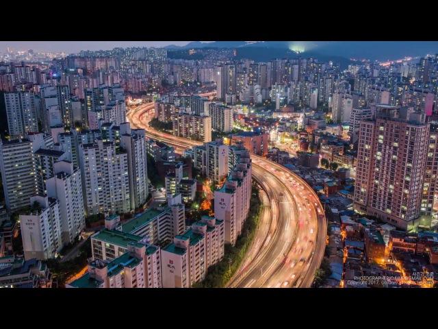 Timelapse Cеул (Южная Корея)