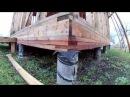 Свайный фундамент своими руками. Каркасный дом на Ставрополье.