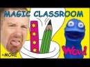 Magic Classroom Objects MORE Stories from Steve and Maggie with Bobby | Wow English TV