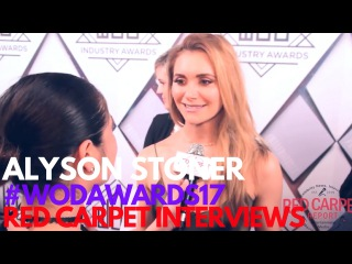 Alyson Stoner interviewed at the 7th Annual World of Dance Industry Awards #WODAWARDS17