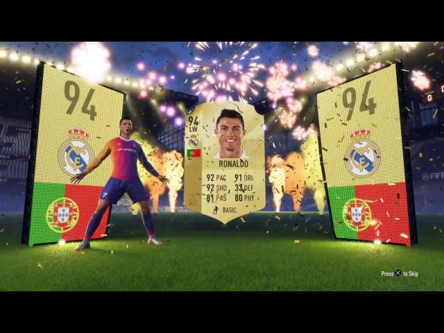 FIFA 18 Cristiano Ronaldo Walkout Animation in 1080p 60 FPS
