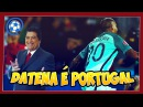 DATENA narra gol de Portugal contra a Croácia - Eurocopa 2016
