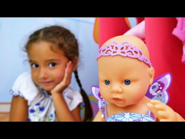 Türkçe izle - kız çocuk oyuncakları/oyunları/videoları. Ceylin bebeğe kıyafet seçiyor. Kukla oyunu