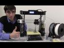 3Д принтер из коробки до печати Prusa i3 - Anet A8