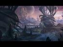Инопланетные города фантастические миры