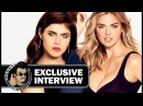 Alexandra Daddario & Kate Upton Exclusive THE LAYOVER Interview (JoBlo)