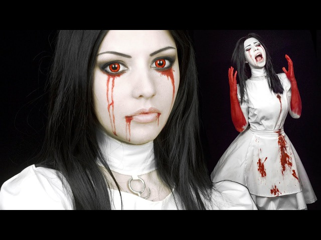 ☆ Alice Madness Returns Cosplay Hysteria Mode Makeup Tutorial ☆