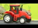 Мультик про машинки. Трактор, погрузчик. Развивающие и познавательные мультики ...