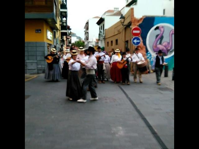 Уличный фестиваль в Пуэрто де ла Круз