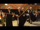 Stick dance performance with Hamdi -