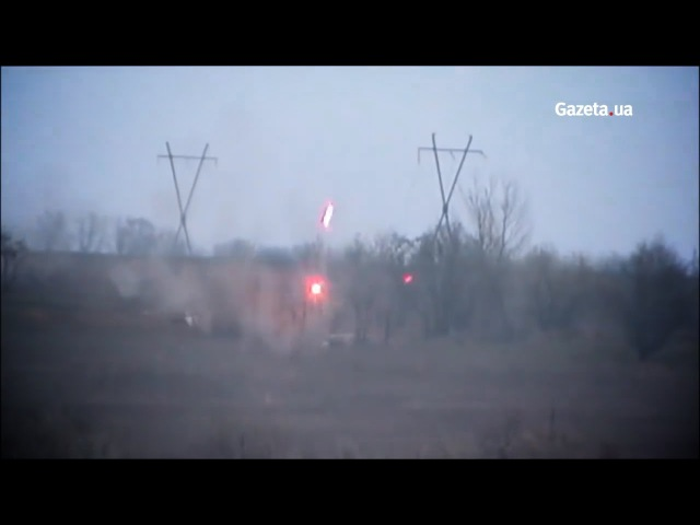 Українські військові накрили потужним вогнем позиції бойовиків