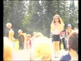 Поющие ведущие. А. Губина - Танец. День молодёжи. Массовка. 29.06.2003