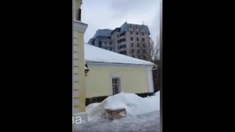 Татьяна Африкантова после эфира у Олимпиского 27 01 2017