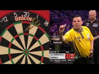 Raymond van Barneveld vs Dave Chisnall (2017 Premier League Darts / Week 14)