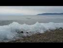 English Russia - Have you ever seen an ice wave- Rare natural phenomena on Lake Baikal when ice is moving to the shore, just lik
