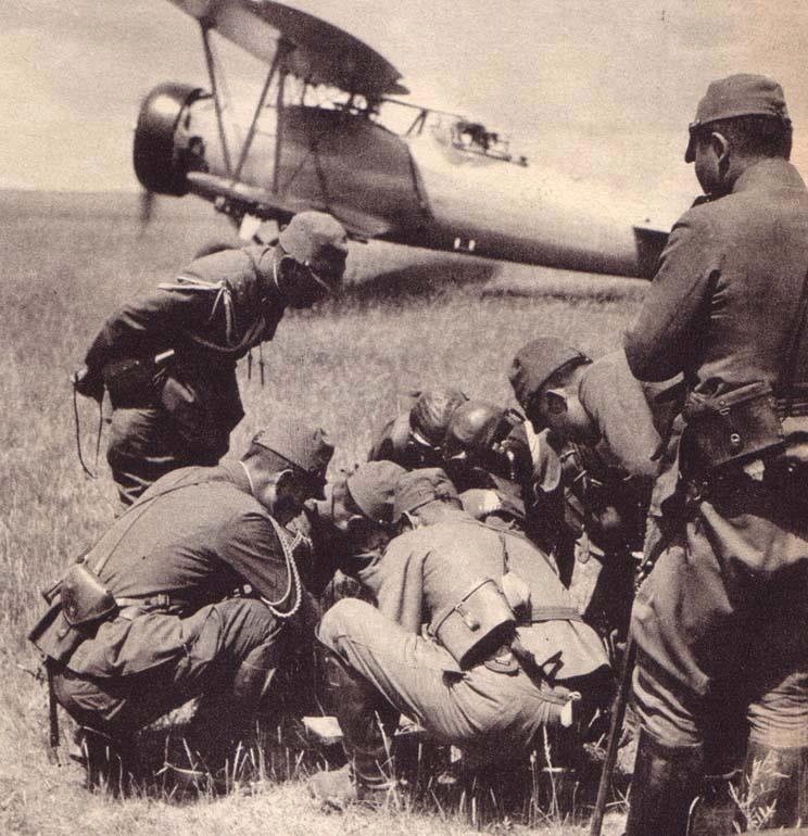 Легкий бомбардировщик Ki-4 во время боев на Халхин Голе