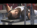Brett Gibbs - world record bench press 208.5 kg