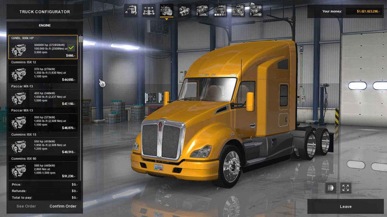 ATS Kenworth t680 500,000 HP MOD