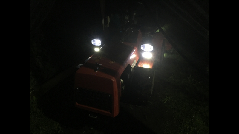 МТЗ-132Н переделка на светодиоды