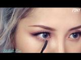 Как делают макияж корейские девушки!