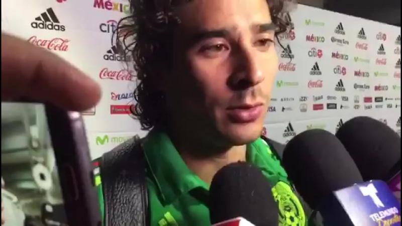 @SoyReferee Еще El arquero @yosoy8a respalda a Osorio. Pide respetar el proceso. NosVamosAlMundial Rusia2018