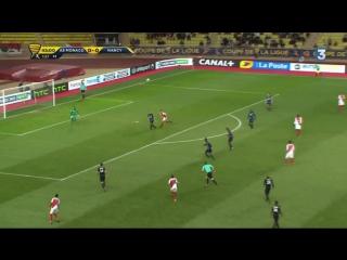 Монако 1:0 Нанси. Гол Фалькао