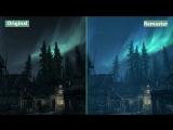Сравнение оригинального Skyrim со Skyrim Special Edition.