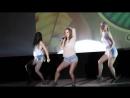 3 девушки классно👍👏 танцуют и поют под песню - Цунами