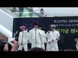 VK09.10.2016 MONSTA X Fancam - 'Fighter' @ Fansign Starfield Hanam