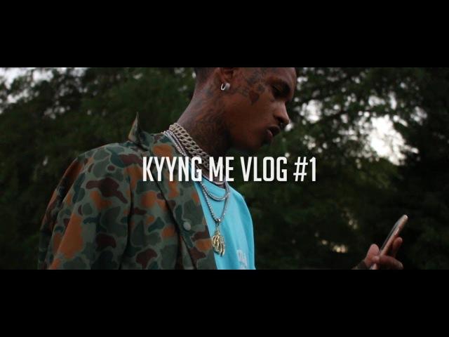 Kyyng Me Vlog 1 (Studio Session With Drumma Boy)