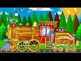 Trains for Children - Learn Numbers with Animals - Educational Videos - Kids Trains &amp Cars Cartoons