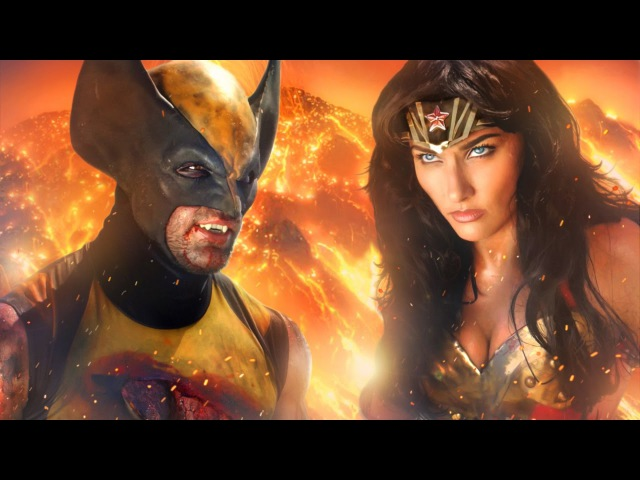 WONDER WOMAN vs WOLVERINE ALTERNATE ENDING Super Power Beat Down