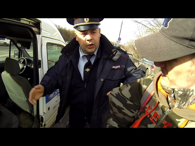 Полицейский напал в ответ на замечание о нарушении ПДД