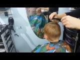 Sweet Melissa TV. Детская Стрижка для мальчика под машинку. Baby VLOG.