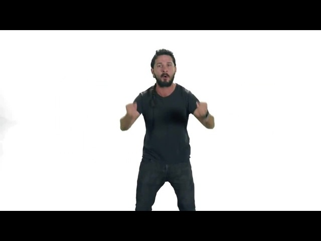 JUST DO IT and DONT LOSE YOUR WAY [KILL LA KILL OST] Shia Labeouf · coub, коуб