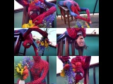 THE AMAZING SPIDER-FLORIST (The Flower Chef as Spider-Woman as a Florist) SPOOF/COSPLAY