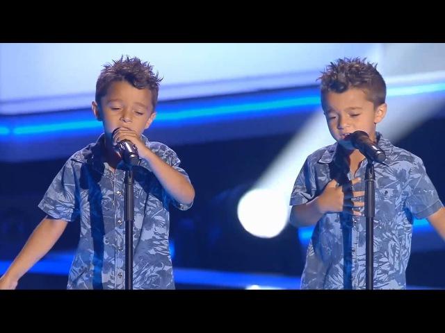 Antonio y Paco Te Quiero, Te Quiero - Audiciones a Ciegas - La Voz Kids 2017