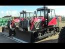 Новый гусеничный трактор YTO C1302 - аналог ДТ-75. Обзор 2017