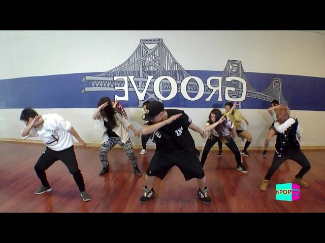 KPOP Dance - BTS - Fire Lesson 4