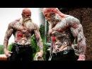 Воркаут монстр? Старый татуированный бодибилдер | Motivational Video 2018