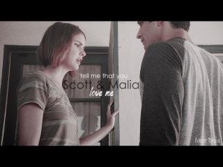 Scott Malia | tell me that you love me (AU)