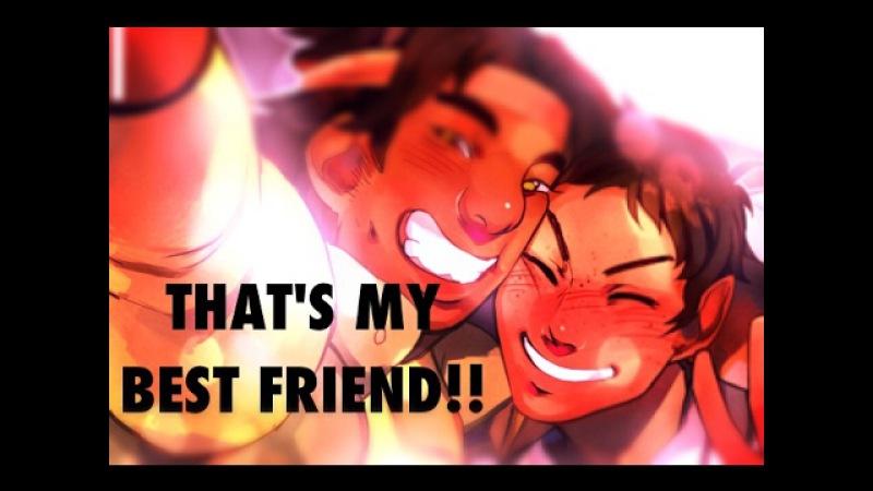 Lance hunk / that's my best friend!