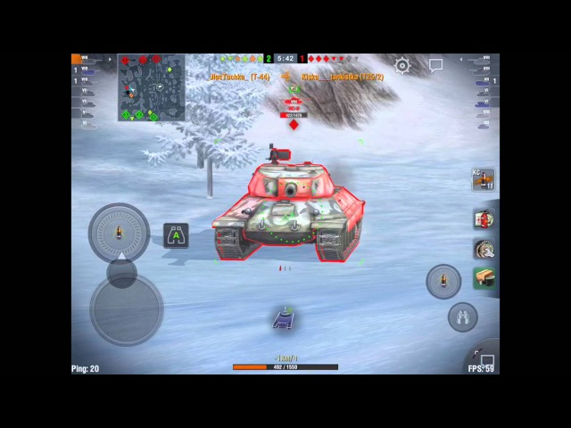Обзор ИС-3 защитник wot blitz