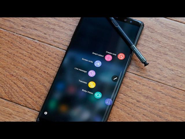Samsung Note 8, Gear Fit2 Pro и Gear Sport. Первый взгляд на IFA2017
