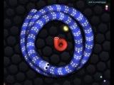 СЛИЗАРИО [1] - Игровой мультик для детей про змейку Игра (slither.io - 1 серия)