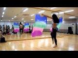 Korea Belly Dancer Yasmin Workshop!